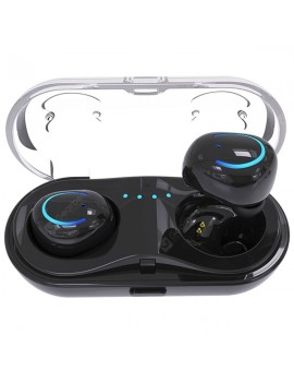 HBQ - Q18 TWS Wireless Bluetooth Earbuds with Charging Case