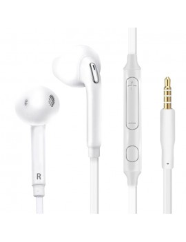 Gocomma G07 Half-in-ear Noodle Earphone with Wire Volume Control Mic 3.5mm Interface