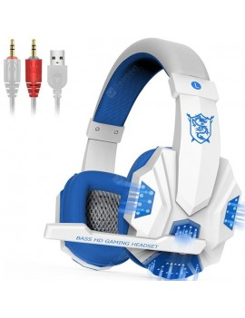Gaming Headset Desktop Laptop Remote Control With Microphone Headphone