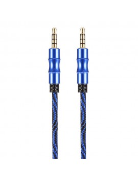 99.5cm 3.5mm Male to Male AUX Audio Transmission Cable