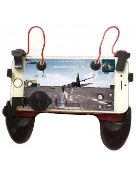 3 in 1 Mobile Phone Game Handle Gaming Trigger Moving Bracket for Smartphone