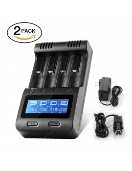 zanflare C4 Multifunctional Battery Charger Set of 2