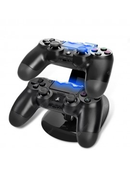Dual USB Charging Charger Docking Station Stand Dock for PS4 Controller