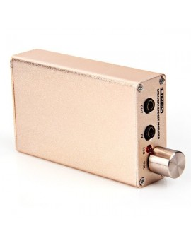 A970 Isoundyou Mobile Headphone Amplifier with Line 5 Speaker System (Gold)