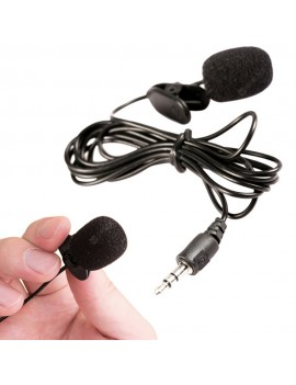 3.5mm Jack Handsfree Speeching External Clip-on Lapel Lavalier Teaching Mic