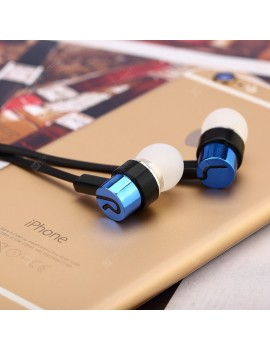 In-ear headphones noodle line heavy bass MP4/MP3 gift earplugs recording pen standard distributors selling