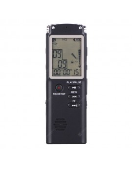 T60 Large Screen Audio Voice Recorder Dictaphone MP3 Player