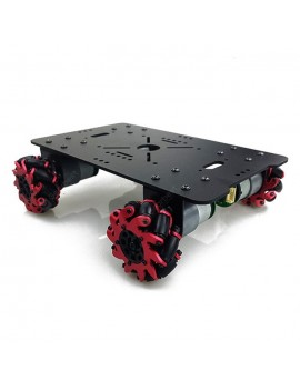 FALCON EYES Smart Car DIY Assembly Chassis Omnidirectional Mobile with Drive Coding Integrated Board