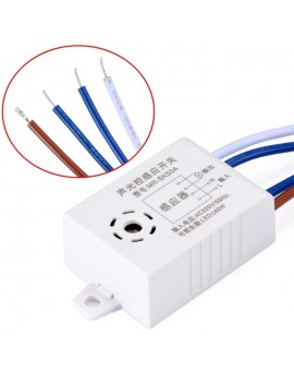 220V Automatic Sound And Light Control Sensor Switch