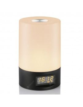 Utorch STL - 02 Wake Up Light Touch Sensor Clock LED Bedside Lamp