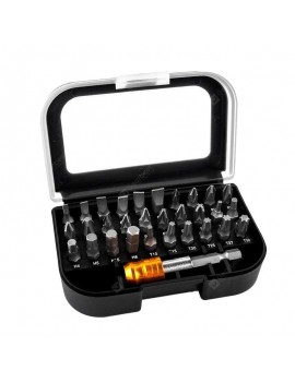 31 In 1 Magnetic Screwdriver Bits Suit High Quality 25MM Bits and Bits Adap