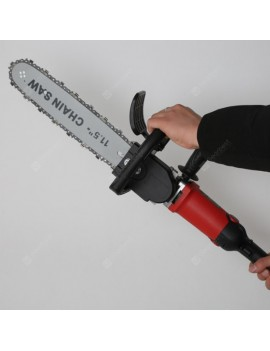 Angle Grinder Modified Electric Chain Saw Accessories Set