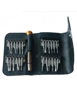 BST-633A 24 in 1 Leather Type Precision Screwdriver Tool Set
