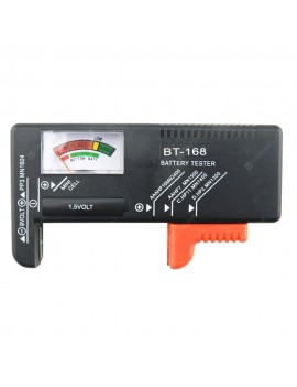BT168 Digital Battery Capacity Tester for AA AAA C D 9V 1.5V Button Cell