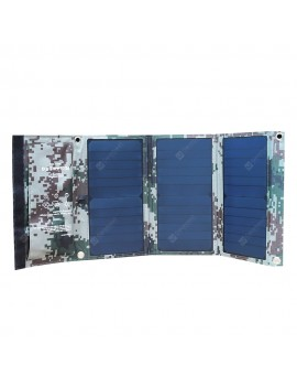 BOSSCAT AY-S022 22W Outdoor Foldable Solar Panel with USB Port