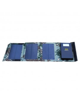 BOSSCAT AY-S08 8W Outdoor Foldable Solar Panel with USB Port