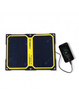 BOSSCAT AY-S014B 14W Outdoor Foldable Solar Panel with USB Port