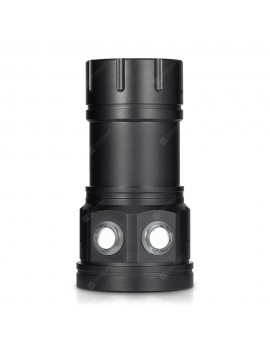 C15 Portable 150W LED Diving Flashlight for Underwater Photography