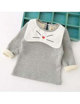 Cute Girls Sweatshirt Clothes Kids Tops Outerwear Clothes