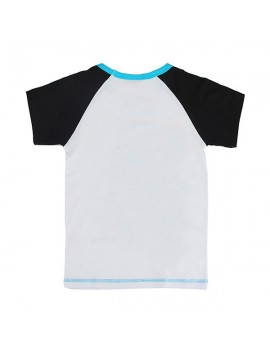 Motorcycle Baby Children Boy Pure Cotton Short Sleeve T-shirt Top