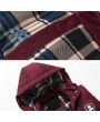 Casual Hooded Thicken Winter Fall Cotton Coat Vest for Men