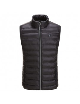 Mens Outdoor Heating Warm Vest USB Safety Intelligent Graphene Carbon Fiber Vest