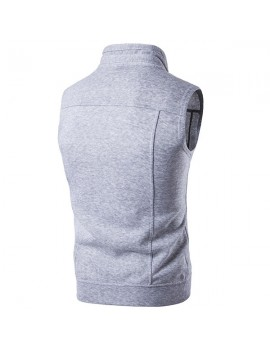 Casual Personality Slim Stylish Buttons Up Vests for Men