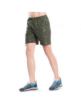 Mens Fashion Comfortable Quick-Dry Breathable Camo Sport Running Shorts