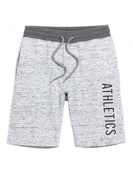 Mens Drawstring Letter Printed Knitted Breathable Thin Cusual Beach Shorts Sport Shorts