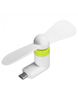 Brand New Portable Mini Flexible TPE Silicon  Super Mute Micro USB Fan for OTG Android Mobile Phone Cooler Cooling