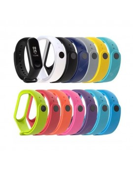 A1 Color silicone strap for xiaomi Band 3 and 4 generations